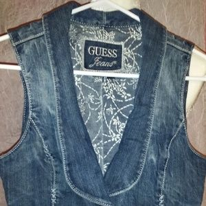 Guess Jeans Vest -1 of a kind!